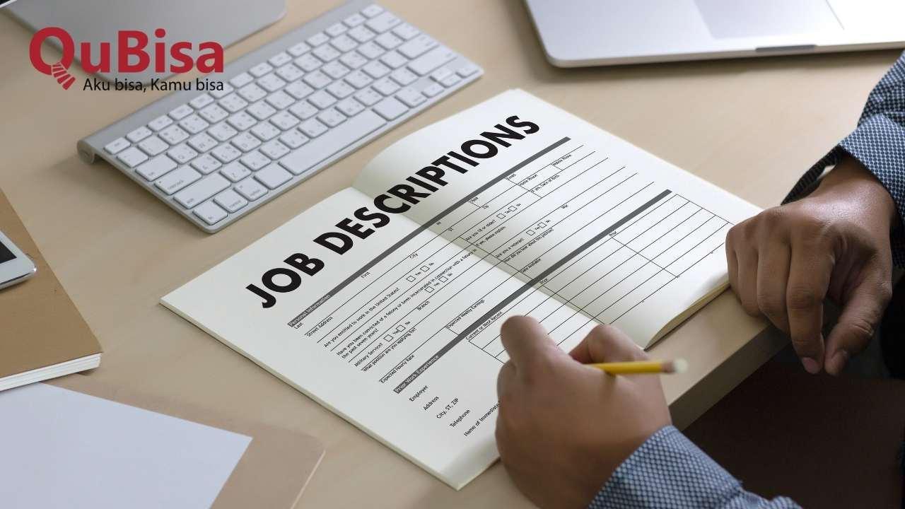 Memahami job description saat melamar pekerjaan