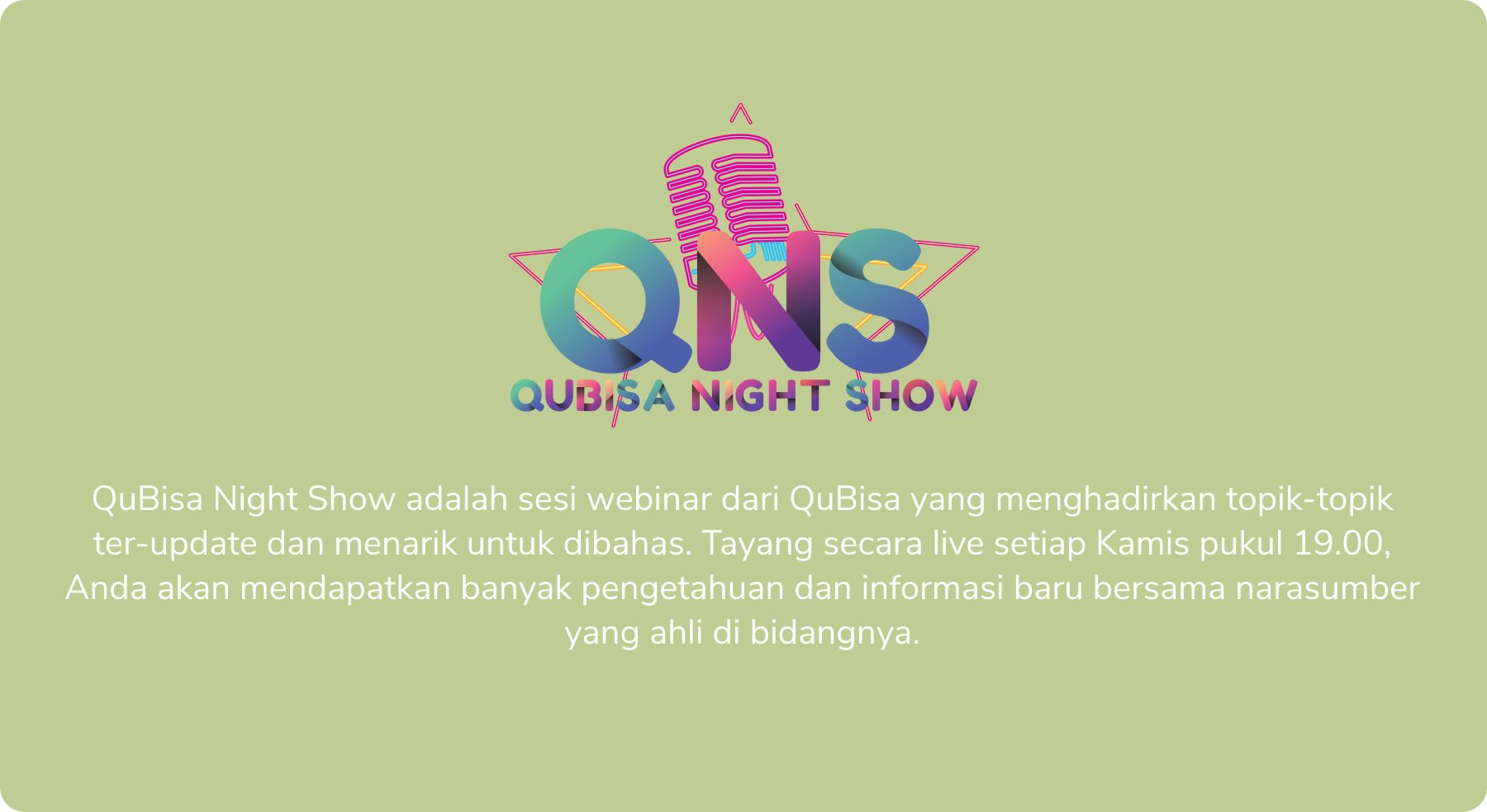 QuBisa Night Show