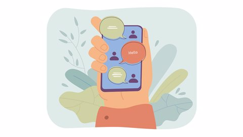 Contoh Penggunaan Fungsi 'Greeting Message' pada Aplikasi WhatsApp Business